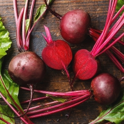 "Red beetroot ""Karmazyn"" - COATED SEEDS"