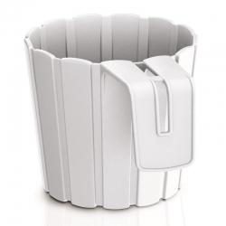 """Pot tanaman gantung """"Boardee Hook"""" - 14,4 cm - putih -"""