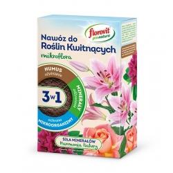 Ziedošs augu mēslojums 3-in-1 - apaugļo, baro un aizsargā- Pro Natura - Florovit® - 1 kg -