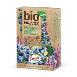 Fertilizante BIO Arándanos y Plantas acidófilas - para cultivos orgánicos - Florovit® - 800 g -