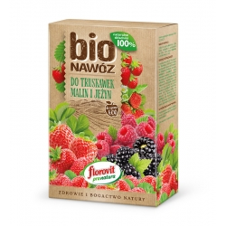 Fertilizante BIO Fresa, Frambuesa y Mora para cultivos ecológicos - Florovit® - 800 g -