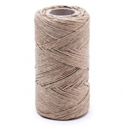 Linen waxed thread - 100 g / 120 m