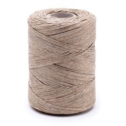 Linen waxed thread - 250 g / 300 m
