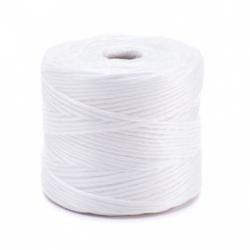 Cordón de polipropileno blanco TEX 2000 - 500 g / 250 m -