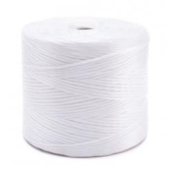 Cordón de polipropileno blanco TEX 2000 - 1 kg / 500 m -