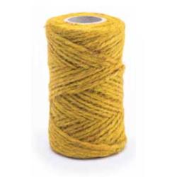 Sárga juta zsineg - 100 g / 40 m -