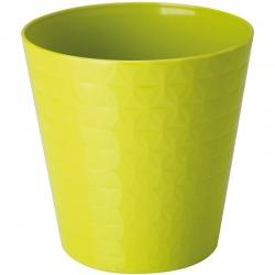 """Caja redonda """"Diament petit"""" - 13 cm - verde pistacho -"""