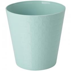 "Caja redonda ""Diament petit"" - 22 cm - verde menta oscuro -"