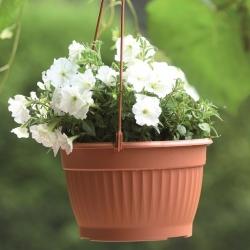 Závesný kvetináč - Terra - 26 cm - Terakota -