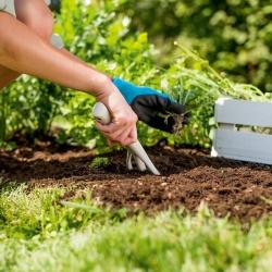 Maza dārza dakša - PASTEL - pasteļbēša - CELLFAST -