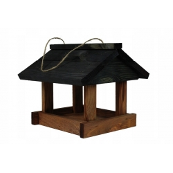 Klassikaline ripp-lindude toitja - mustpruun -