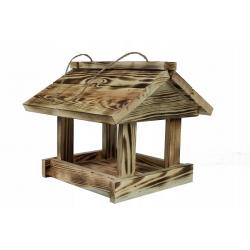 Klassikaline ripp-lindude toitja - söestunud puit -