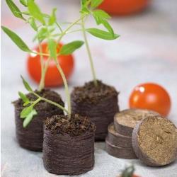 Expandable peat pellets 44 mm - 36 pieces