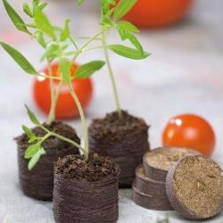 Expandable peat pellets 27 mm - 12 pieces