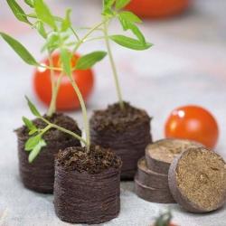 Expanding peat pellets 27 mm - 3300 pcs
