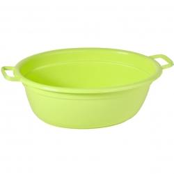 Bể giặt hình bầu dục màu xanh lá cây dài 45 cm -