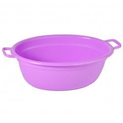 Bể giặt hình bầu dục màu tím dài 45 cm -