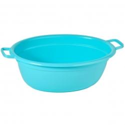 Bể giặt hình bầu dục màu xanh dài 45 cm -