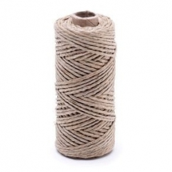 Linen waxed thread - 20 g / 30 m
