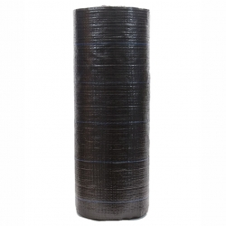 Kain anti-gulma hitam (agrotextile) - lebih tebal dari bulu domba - 1,10 x 5,00 m -