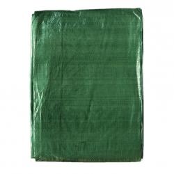 Terpal - 4 x 8 m - hijau -