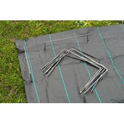 Agrotextil, gyapjú, fólia, ponyva és matt szőnyegek - 20 x 12 cm - 10 db -