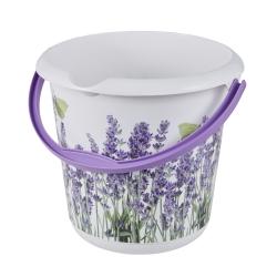 ایلوی - سطل 10 لیتری با نقوش تزئینی - اسطوخودوس -