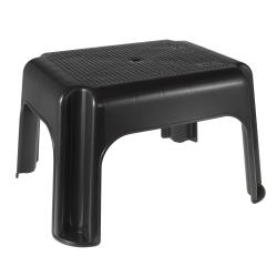 Graphite grey plastic stool