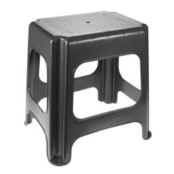 Graphite grey Maxi plastic stool
