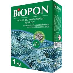 Blue conifers' fertilizer - intensifies needle colouring - BIOPON® - 1 kg