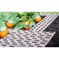 Pavers cỏ xốp - lưới lát - Pad - lý tưởng cho khu vườn của bạn - 0,95 m2 - màu nâu -