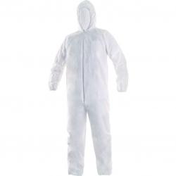 Overol protector blanco talla XL -