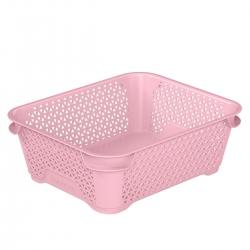 Úložný košík z ružovej perly A6 -