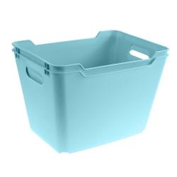 Lotta menyimpan wadah biru berair 20 liter -