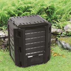Ящик для компоста - Compogreen - 380л - черный -