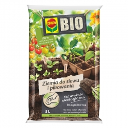 BIO Pembibitan dan pembibitan tanah - Kompo - 5 liter -