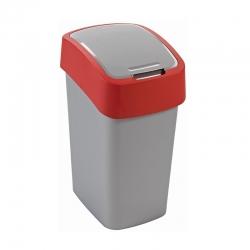 10 literes piros Flip Bin szemetesszedő -