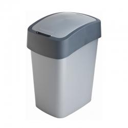 Tempat sampah penyortiran Flip Bin abu-abu 25 liter -