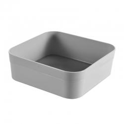 سازمان دهنده / تقسیم کشو مربع - بی نهایت - 1 لیتری - خاکستری روشن -
