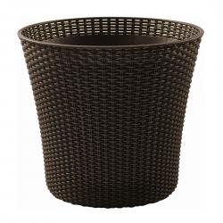 """Круглый горшок для растений """"Коник"""" - ø 54 см - коричневый -"""