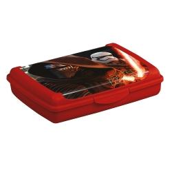 Hộp cơm trưa Olek 'Star Wars' 0,5 lít màu đỏ của Calcutta -
