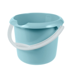 Ведро с носиком - Мика - 5 л - водянисто-голубой -