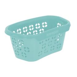"""Giỏ đựng đồ giặt """"Anton"""" màu xanh nước - 57,5 x 38 cm -"""