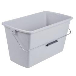 سطل مستطیل شکل 13 لیتری سنگ مرمر -