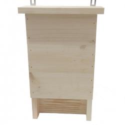 Кутија за шишмиш - сирово дрво -