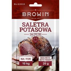 Dusičnan draselný, soľ - na ošetrenie bravčového, hovädzieho a teľacieho mäsa - 20 g -