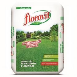 Fertilizer for lawns with moss - Florovit - 25 kg
