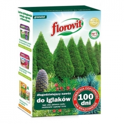 "Ilgstošs skujkoku mēslojums ""100 dni"" (100 dienas) - Florovit® - 1 kg -"