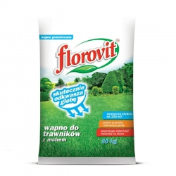 Lime for lawns with moss - Florovit - 20 kg
