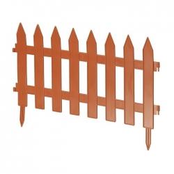 Kerti kerítés szegélye - 27 cm x 3,2 m - terrakotta -